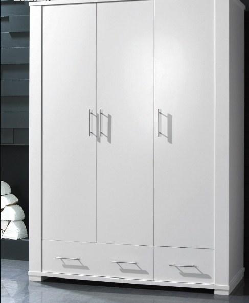 model lemari pakaian 3 pintu minimalis