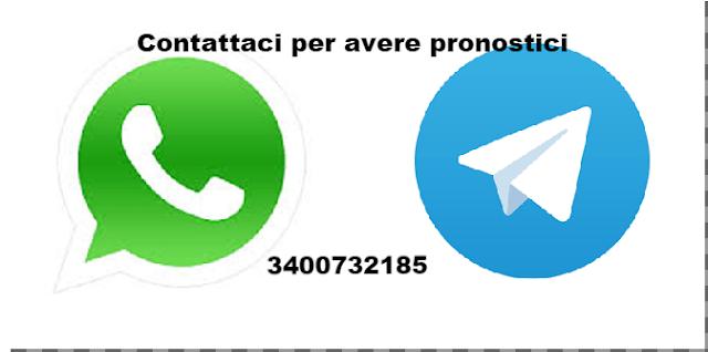 Pronostici su WhatsApp e Telegram