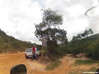 Entrada para a Cachoeira do Lúcio, em Itambé do Mato Dentro/MG.