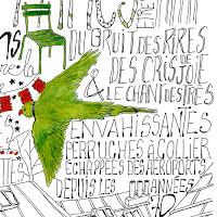 """Detail de """"Jardins Parisiens"""" Exposition Jardins Parisiens, Galerie de la Marraine"""