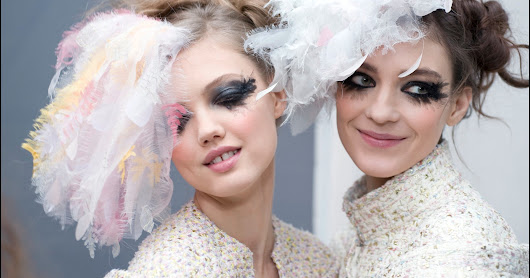 Chanel Maquillage of Spring-Summer 2013 Haute Couture | Fashion Smiling