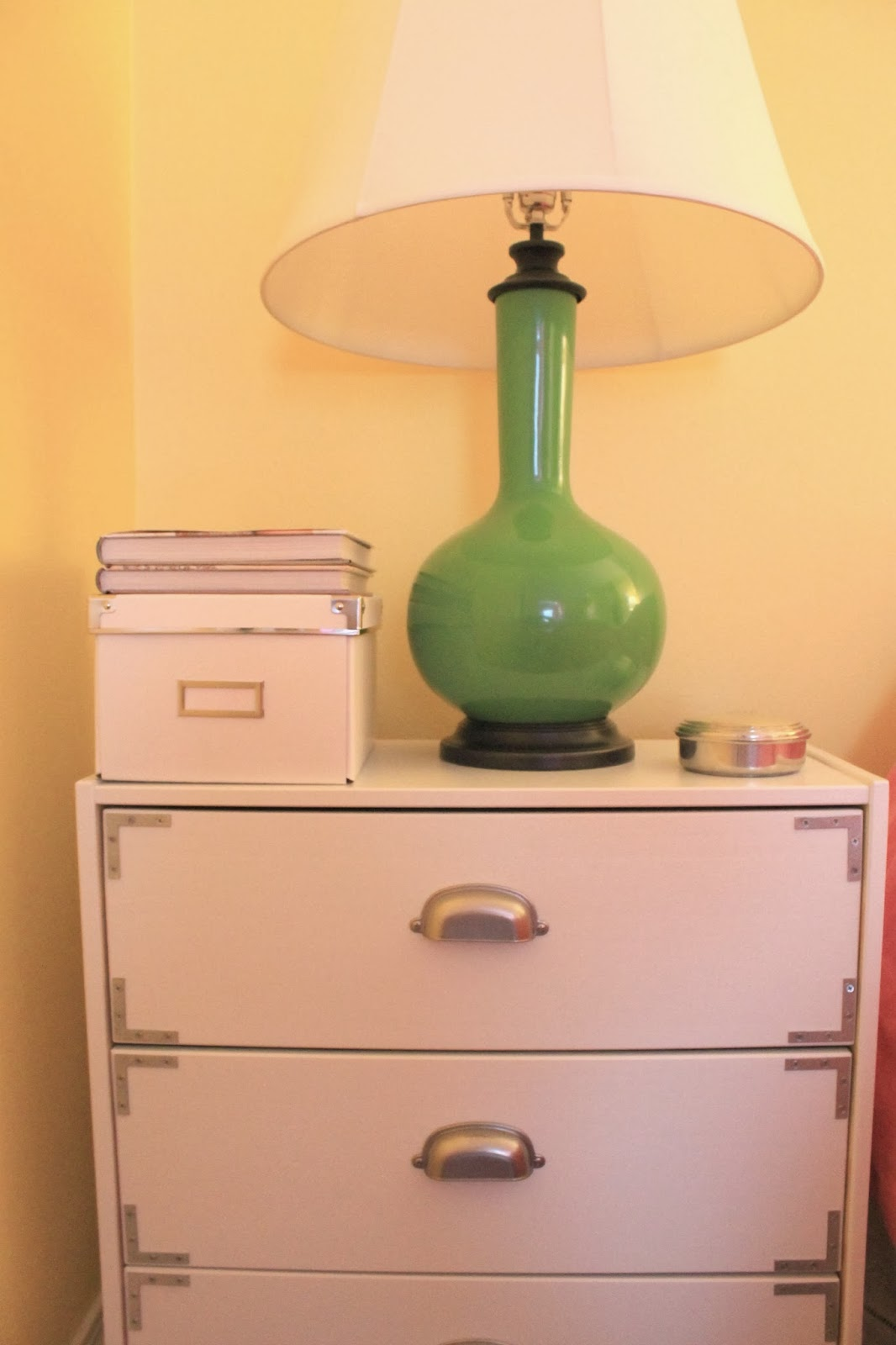 Citrus And Style Campaign Chest Diy