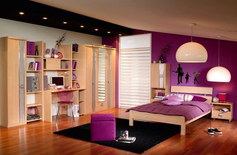 de que color pintar un dormitorio para una chica adolescente