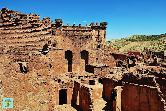 Kasbah de Telouet, Marruecos