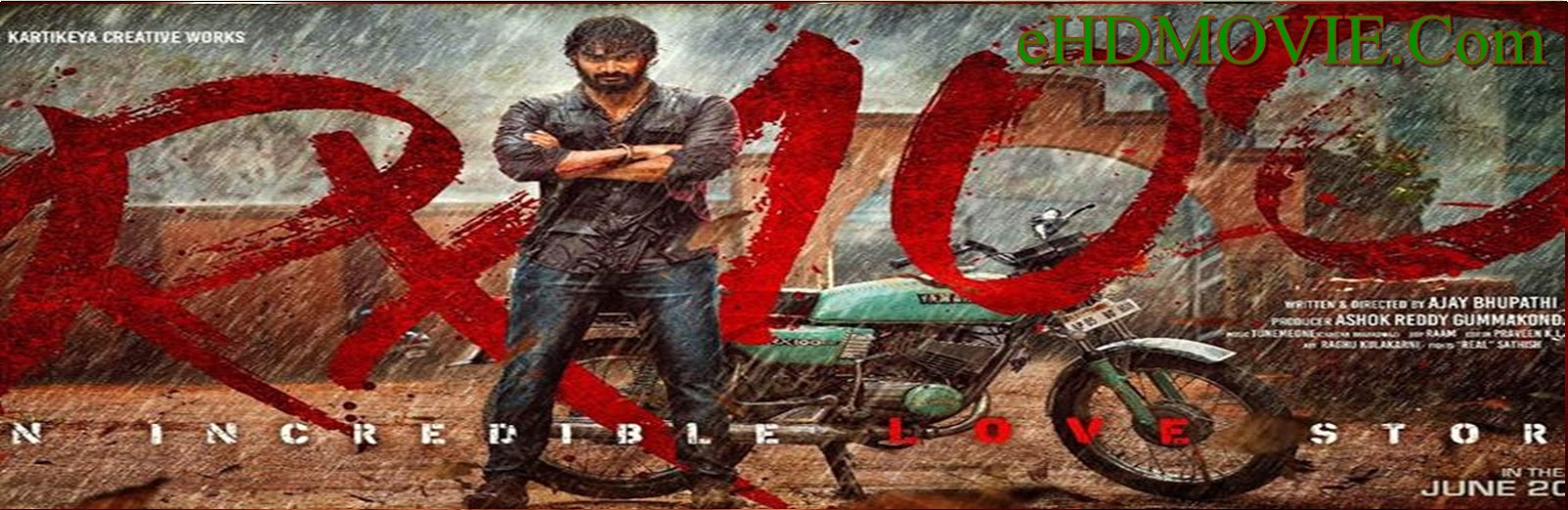 Rx 100 2018 Full Movie Telugu 720p - 480p ORG WEBRip 400MB - 900MB ESubs Free Download