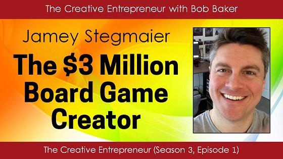 Jamey Stegmaier, Board Game Creator, Kickstarter Crowdfunding