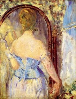 Эдуард Мане Édouard Manet Женщина перед зеркалом