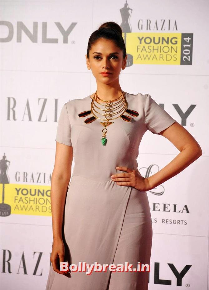 Aditi Rao Hydari, Grazia Young fashion Awards Pics