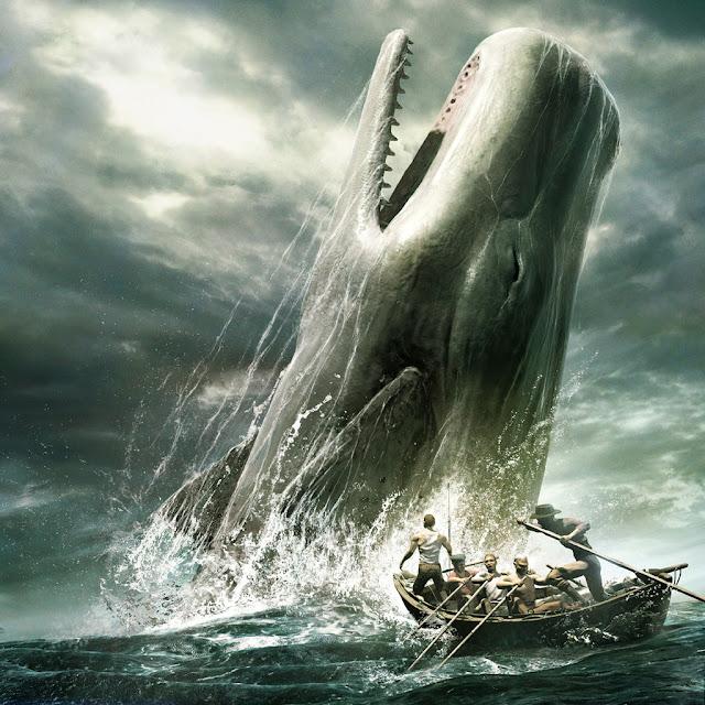 Moby Dick ikan paus putih raksasa