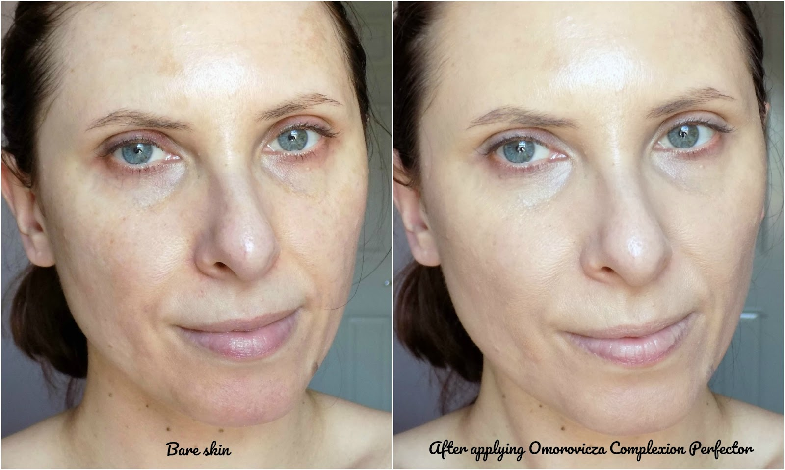 Omorovicza Complexion Perfector SPF20, before and after photos