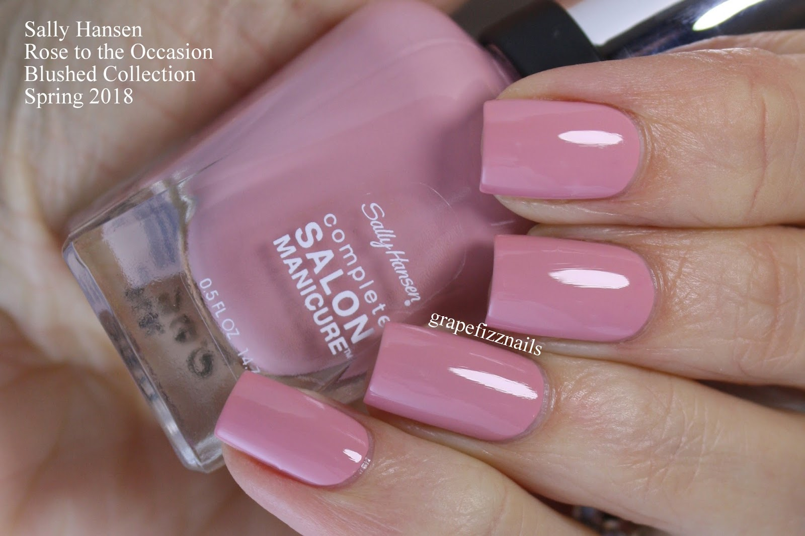 Sally Hansen Complete Salon Manicure Rose To The Occasion Nail And Manicure Trends
