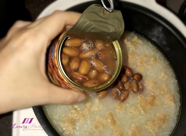 narcissus braised peanuts recipe chicken porridge