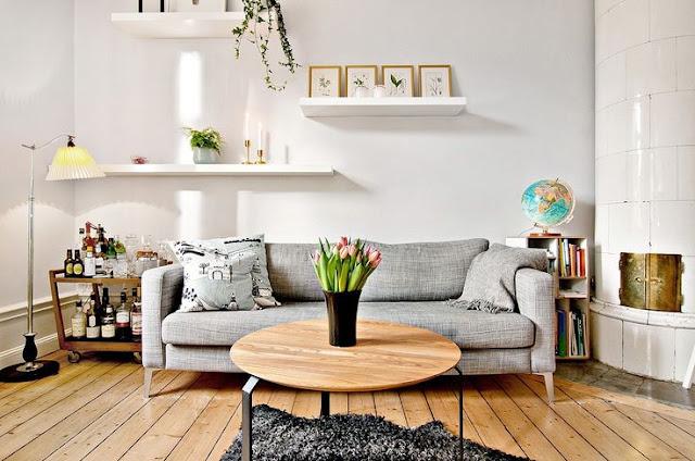decorar piso de alquiler, como cambiar la decoración de un piso de alquiler, pintar de blanco es una opción