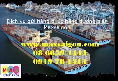 Dịch vụ vận chuyển hàng hóa đi Úc bằng đường tàu biển
