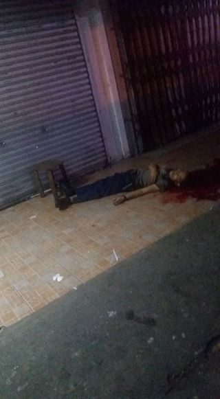DEAD-ON-THE-SPOT: Security Guard Was Found Lifeless Outside A Shop In Bacolod City! MUST READ!
