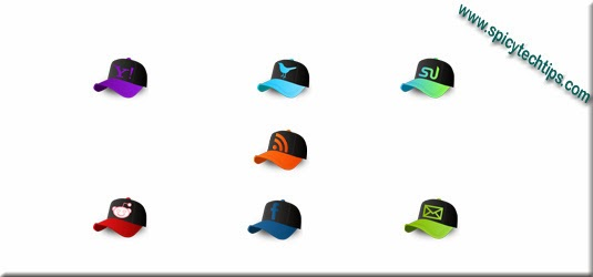 baseball cap design social icon