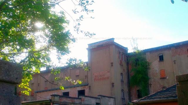 Fabrikgelände Malzfabrik Niedersedlitz verlottert