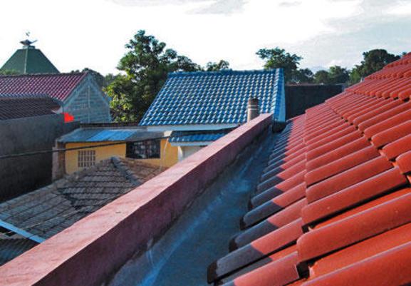 Talang pada atap rumah Anda bocor Ini cara mengatasinya