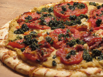 Tracy's Living Cookbook: Tuscan White Bean Pizza with ...