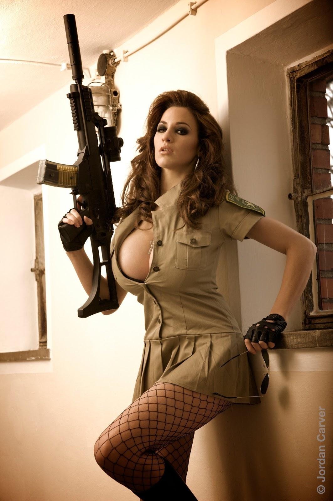 Hot Jordan Carver Sheriff Sexy Photo Shoot Hd  Damn Sexy-9655