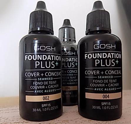 Gosh Overnight Primer Oil + Foundation Plus + Velvet Touch Lipstick Matt