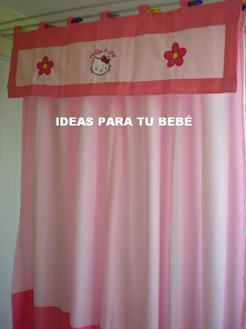 Ideas para tu bebe cortinas infantiles disney - Cortinas infantiles disney ...
