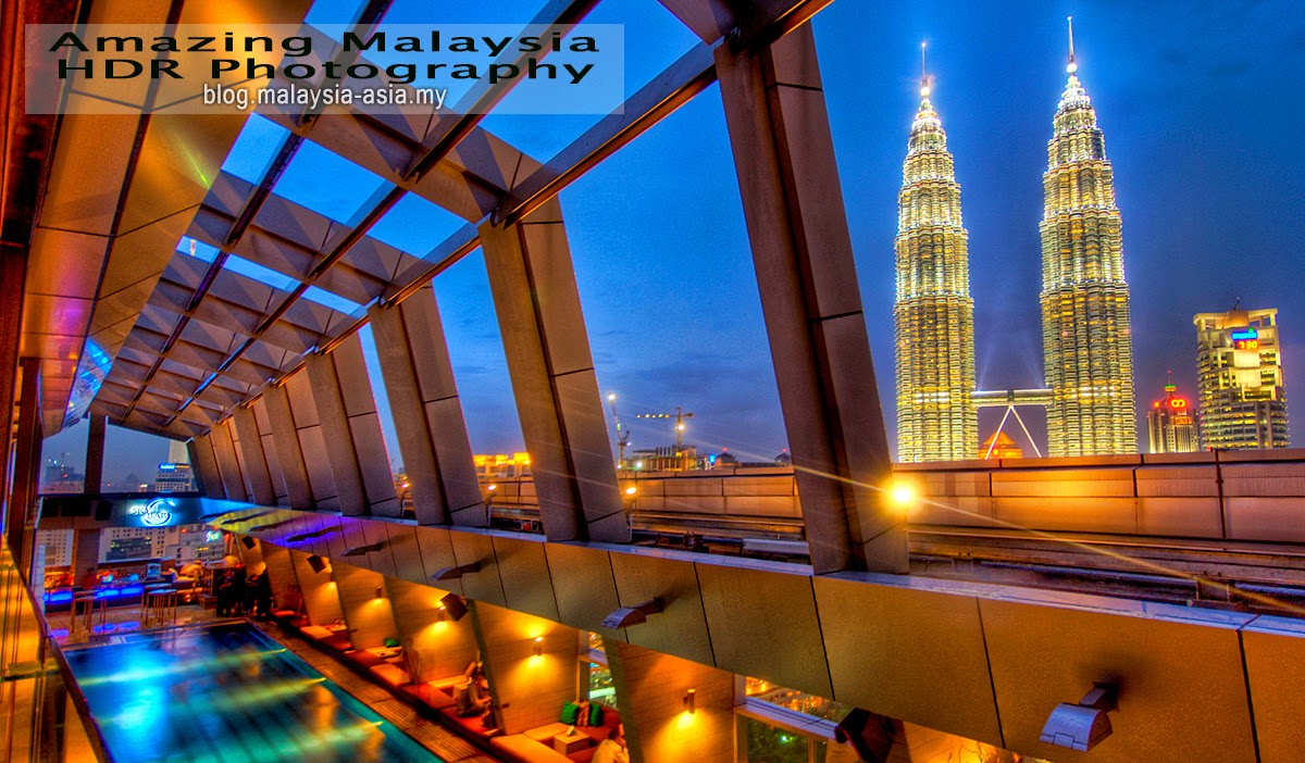 Petronas Twin Towers HDR Photography