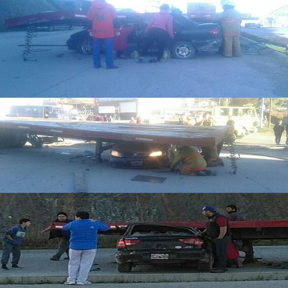 Accidente en Ushuaia