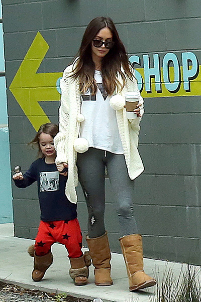 Megan Fox with children