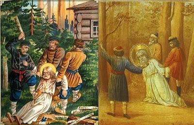 Преподобный едва не погиб от рук бандитов Ζωή σαν το κεράκι: ο όσιος Σεραφείμ Σαρώφ και οι τρείς ληστές Η Συγγνώμη στις προσβολές