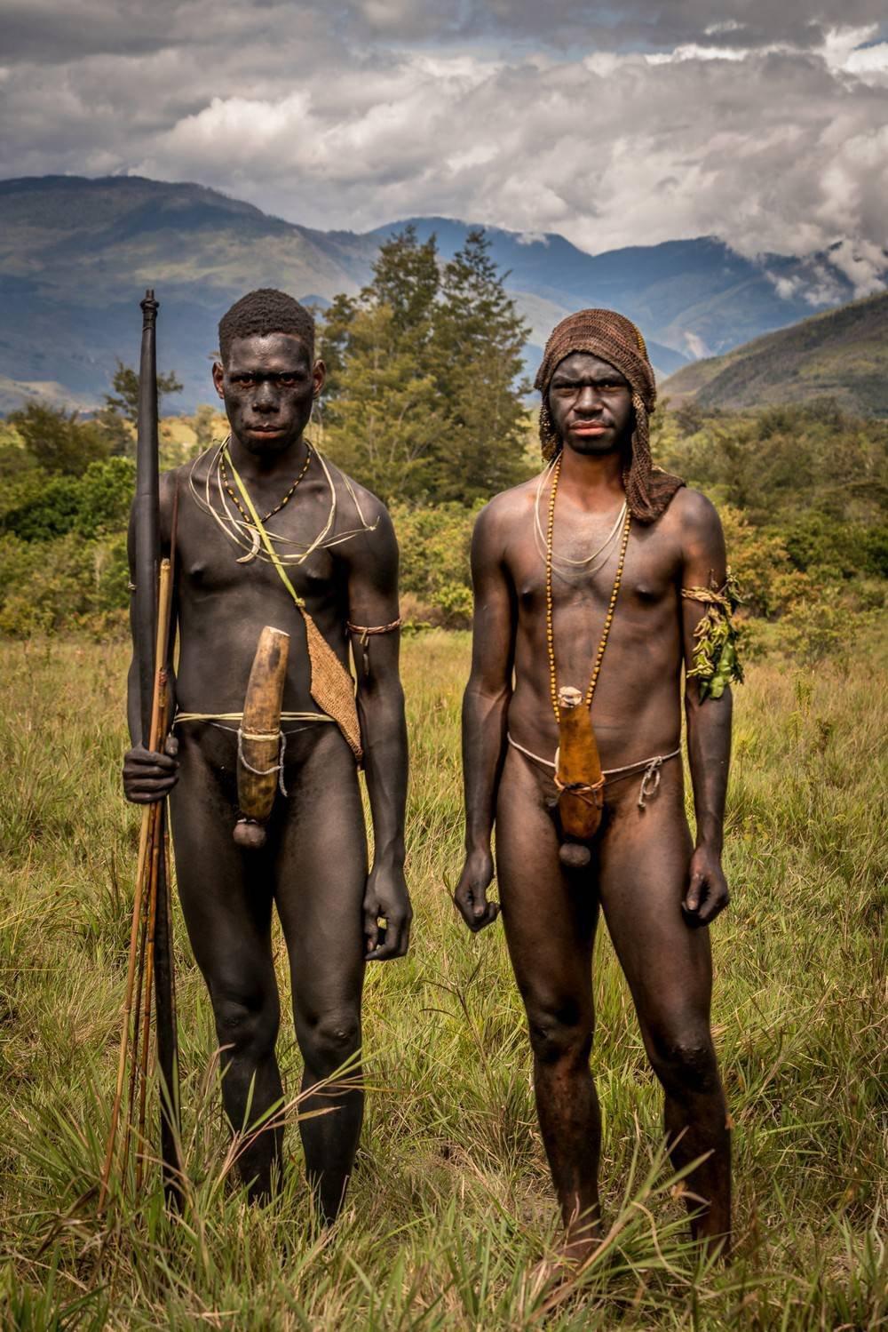 African tribesman dick