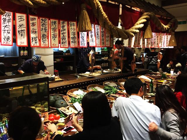 IMG 9747 - 【台中美食】來自日本傳統好滋味的 樂座端爐燒 @日本古早味@新鮮海鮮@新鮮蔬果~