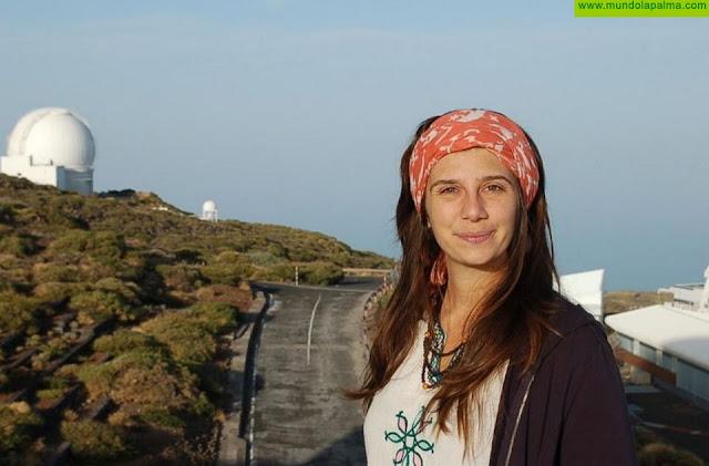 El IAC lamenta el fallecimiento de la astrofísica Rebeca Galera del ING en La Palma