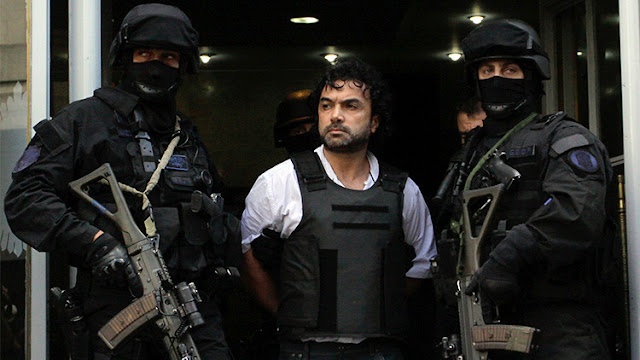 """Argentina extradita a EE.UU. al narcotraficante colombiano Londoño, alias """"Mi Sangre"""""""