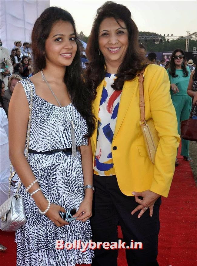 Yes Bank International Polo Cup 2014, Manasi Scott, Saidah Jules at Yes Bank International Polo Cup 2014