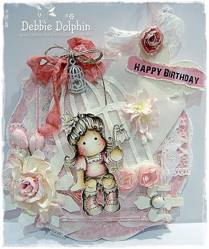 Magnolia Cards By Debbie: Happy Birthday MDUC