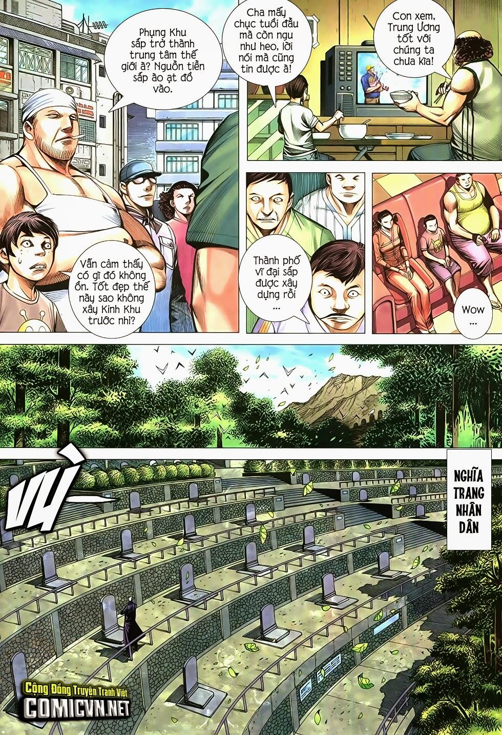 Đại Quân Phiệt chap 21 trang 18