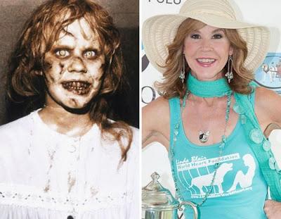 """Linda Blair em """"O Exorcista"""" de 1973"""