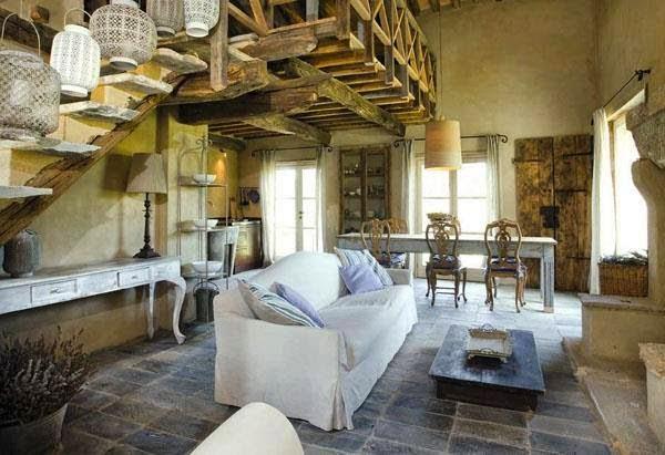 Estilo rustico casa en la toscana ruscany house for Progetti di arredamento