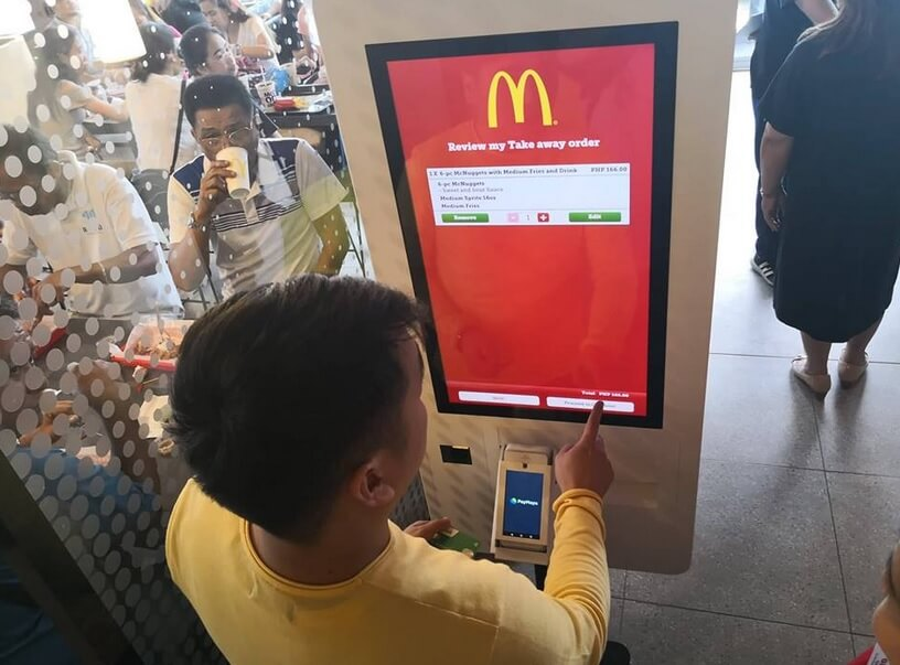 McDonald's NXTGEN Store Offers Self-Order Kiosks Powered by PayMaya