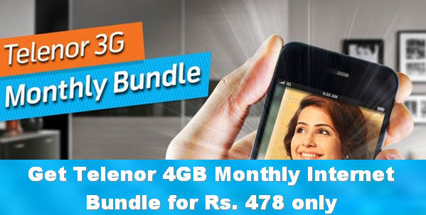 Telerno Monthly 3G Internet Bundle
