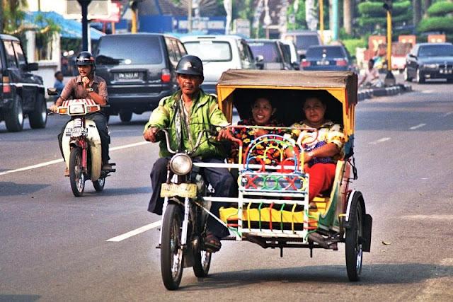 [TERNYATA] Betor 9Becak Bermotor) Lampung Beda Dengan Saudaranya Di Medan