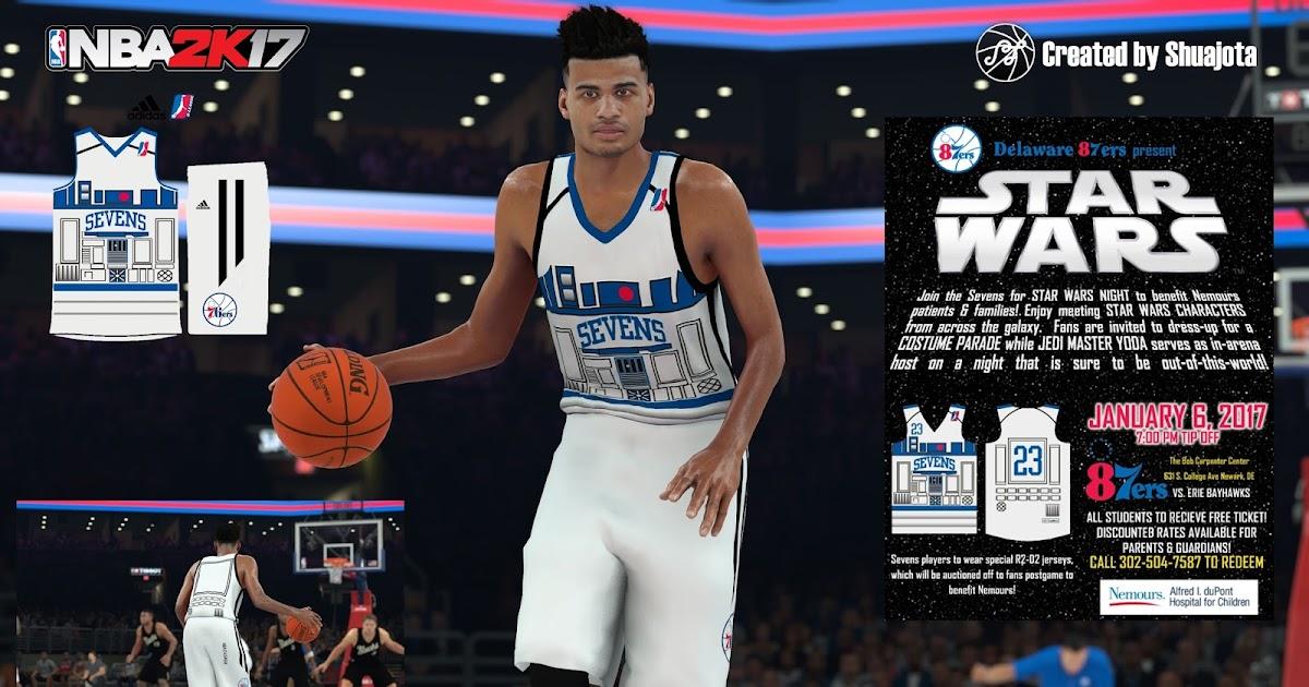 DNA Of Basketball | DNAOBB: NBA 2K17 Delaware 87ers (Star ...