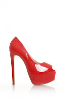 Pantofii  Mineli Boutique Beloved Red