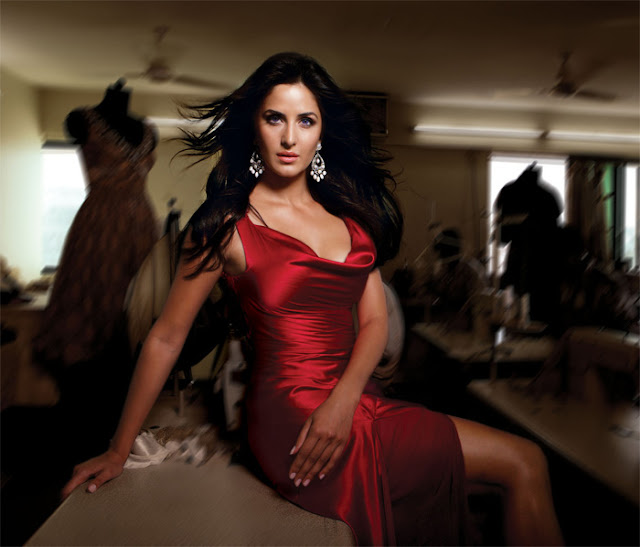 Katrina Kaif  in Red Dress