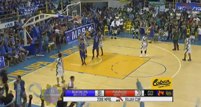 Muntinlupa Cagers eliminates Parañaque Patriots, 81-70 (REPLAY VIDEO) MPBL Semis Game 3 | April 10