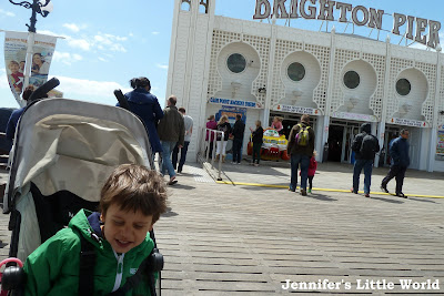 A day out with a small child in Brighton