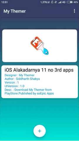 Instal Tema Xiaomi Pihak Ketiga Dengan My Theme for MIUI