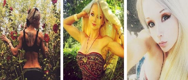 Barbie Valeria Lukyanova Tidak Seperti Boneka Cantik Lagi