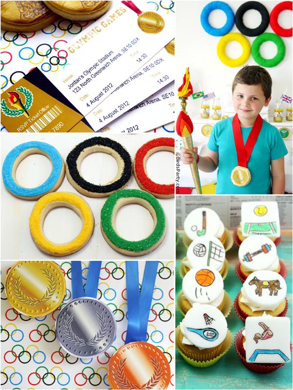 Les Jeux Olympiques | Idées de fête, recettes et DIY  | BirdsParty.com
